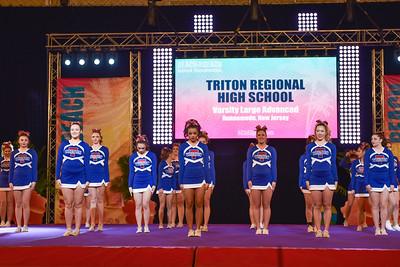 Triton HS Cheer 2016