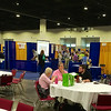 Exhibit Hall: from eating area