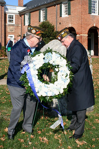 Placing of the Memorial Wreath-Young & Roeder