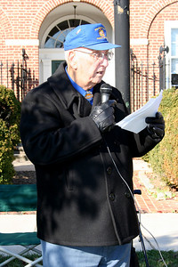 Reading of the Names of the Dead on the Memorial Block-Myers