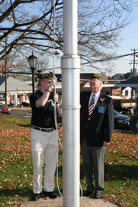 Call to Attention, Half-Staff the Colors-J Houston & Wenzel