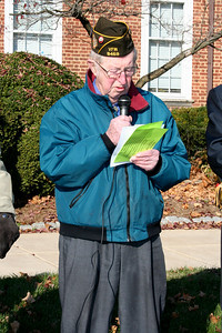 Reading of the Names of the Dead on the Memorial Block-Morris