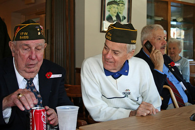 Veterans Day 2010  - Lunch at the Legion