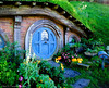 A: Hobbiton - Lord of Rings movie site