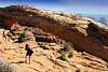 A: Canyonlands NP - Mesa Arch