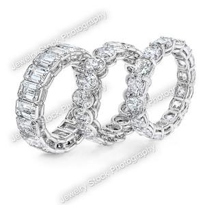 Eternity Diamond Ring Group Standing