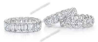 Diamond Eternity Ring Group