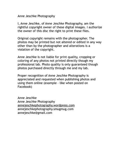 Anne Jeschke Photography print release