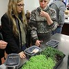 Growing Place held a fair at the Boys and Girls Club of Fitchburg And Leominster on Saturday for everyone to come and learn about gardens, good eating and more. Their was a class on Micro Greens at the fair and Jeanne Klimowicz, on right from Leominster, and Gloria ortiz from fitchburg got to taste some lentil and radish micro greens during the class. SENTINEL & ENTERPRISE/JOHN LOVE
