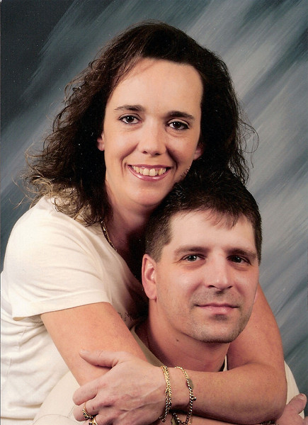 David and wife, Kelly. 2005.