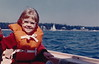 Me on a boat ride, Stonington, Maine