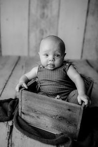 00005©ADHPhotography--JasekHegwood--4Month--June24bw