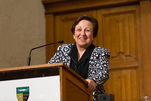 Gruber Lecture with Shirin Ebadi