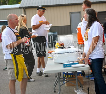 "The sports boosters served a meal during ""Meet the Comets"" on Friday."