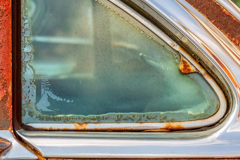 Rear Vent Window 1954 Buick Super 2