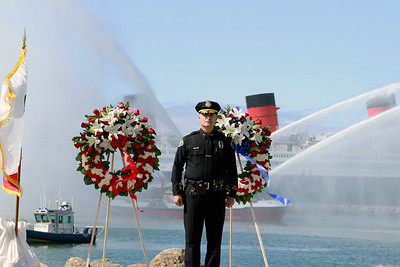 Police & Fire Departments memorial, 5/7/19
