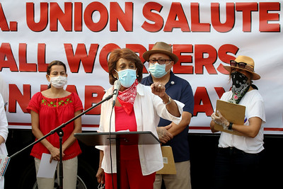 L.A. Unions food giveaway