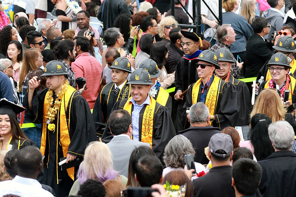 Cal State Long Beach graduation, 5/21/19