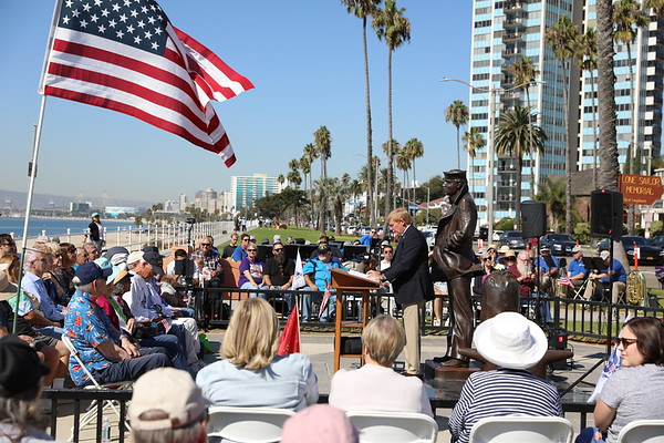 Lone Sailor Memorial anniversary, 10/14/19