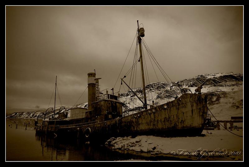 """Norwegian Whaler """"Petrel"""""""