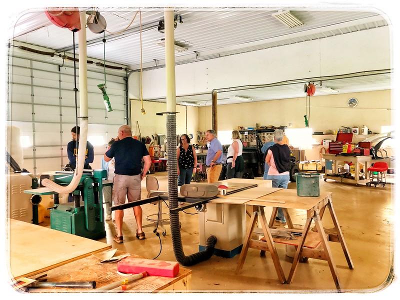 Workshop (including helicopter)