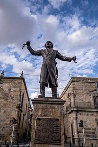 Statue of Miguel Hidalgo y Costilla