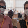 The 48th Union World Conference on Lung Health, Guadalajara, Mexico.<br /> Photo shows TB activists wearing a Zero Stigma mask, at the bike ride for lung health.<br /> Photo by Javier Galeano / The Union