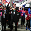 The 48th Union World Conference on Lung Health, Guadalajara, Mexico.<br /> Photo shows Flash Mob: Accelerating TB Elimination with Governance, with José Luis Castro, The Union's Executive Director, and Union staff from India<br /> Photo by Javier Galeano / The Union