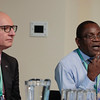 The 48th Union World Conference on Lung Health, Guadalajara, Mexico.<br /> Photo shows José Luis Castro, The Union's Executive Director, and Jeremiah Chakaya Muhwa, The Union's President, the Inter-regional meeting.<br /> Photo by Javier Galeano / The Union
