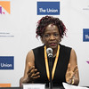 48th Union World Conference on Lung Health, Guadalajara, organised by the International Union Against Tuberculosis and Lung Disease.<br /> Photo©Marcus Rose/The Union<br /> Photo Shows: Official Press Conference. Speaker: AKK Luabeya, University of Cape Town, SA