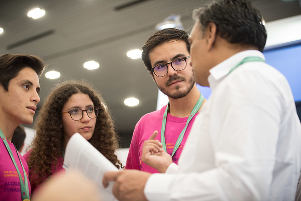 48th Union World Conference on Lung Health, Guadalajara, organised by the International Union Against Tuberculosis and Lung Disease.<br /> Photo©Marcus Rose/The Union<br /> Photo Shows: Student Networking Forum at the Union Village.