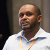 48th Union World Conference on Lung Health, Guadalajara, organised by the International Union Against Tuberculosis and Lung Disease.<br /> Photo©Marcus Rose/The Union<br /> Photo Shows: HIV/TB and Diabetes Late Breaker Session. Speaker: Osman Abdullahi, Kenya.