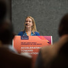 48th Union World Conference on Lung Health, Guadalajara, organised by the International Union Against Tuberculosis and Lung Disease.<br /> Photo©Marcus Rose/The Union<br /> Photo Shows: HIV/TB and Diabetes Late Breaker Session. Speaker:  Detecting diabetes during latent TB testing Angela Largen, United States of America .