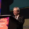 48th Union World Conference on Lung Health, Guadalajara, organised by the International Union Against Tuberculosis and Lung Disease.<br /> Photo©Marcus Rose/The Union<br /> Photo Shows: Dr Toru Mori of the Japan Anti-Tuberculosis Association (JATA) who present The Princess Chichibu Global Memorial TB Award