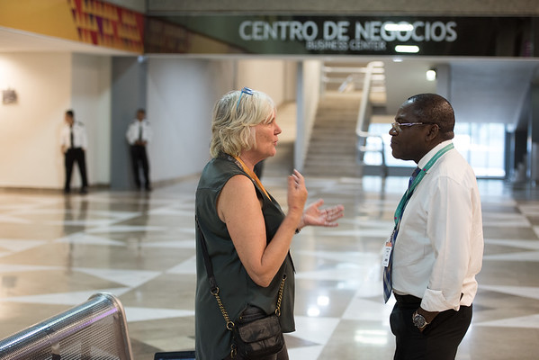 48th Union World Conference on Lung Health, Guadalajara, organised by the International Union Against Tuberculosis and Lung Disease.<br /> Photo©Marcus Rose/The Union<br /> Photo Shows: Around the conference centre