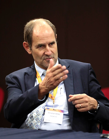 The 48th Union World Conference on Lung Health, Guadalajara, Mexico.<br /> Photo shows Dr. Christoph Benn, Director of External Relations of The Global Fund<br /> Photo by Javier Galeano / The Union