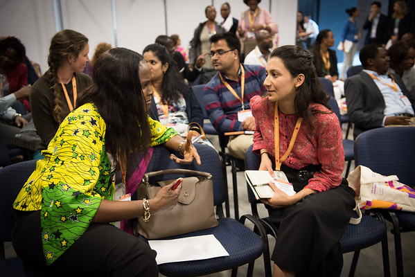 """48th Union World Conference on Lung Health, Guadalajara, organised by the International Union Against Tuberculosis and Lung Disease.<br /> Photo©Marcus Rose/The Union<br /> Photo Shows: Training Session: """"Power and Influence, Networking and Partnerships"""""""