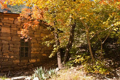 Hunting Lodge, MacKittrick Canyon, Guadalupe Mountain National Park, Texas