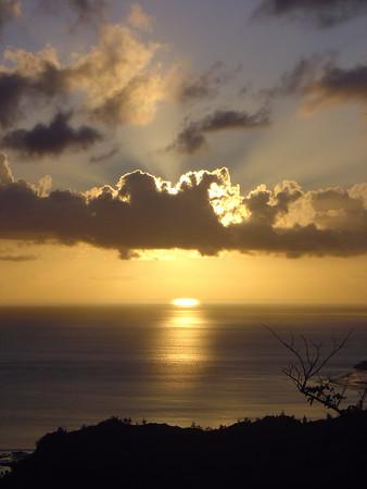 Cetti Bay Sunset - 5/15/05