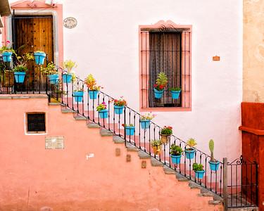 Guanajuato stairway