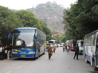 Guangxi Coach Line Up Die Ca Shan Guilin Oct 05