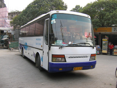 Guangxi Coach C01818 Guilin Oct 05
