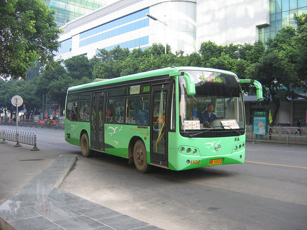 China : Guangxi Province Buses and Coaches - Guilin and Liuzhou - October 2005