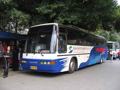 Guangxi Coach C09103 Die Ca Shan Guilin Oct 05