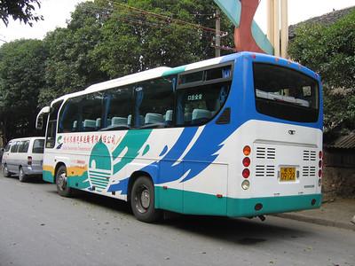 Guangxi Coach C09129 Die Ca Shan Guilin 2 Oct 05