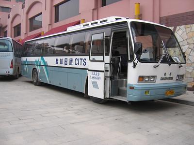 Guangxi Coach C03668 Guilin Oct 05