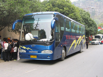 Guangxi Coach C09359 Die Ca Shan Guilin Oct 05