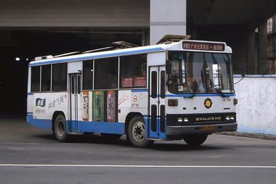 Guangzhou Bus A25552 Guangzhou Oct 00