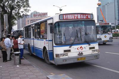 Guangzhou Bus A45126 Guangzhou Oct 00