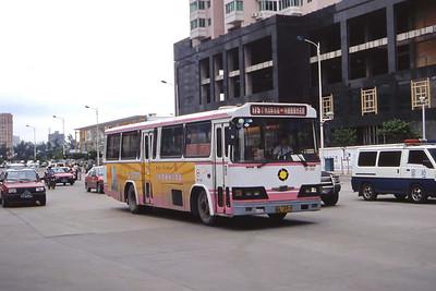 Guangzhou Bus A14919 Guangzhou Oct 00 jpg copy